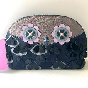 Kate Spade Dome Cosmetic Bag Owl Riley